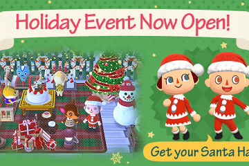 Animal Crossing Pocket Camp Festive Event
