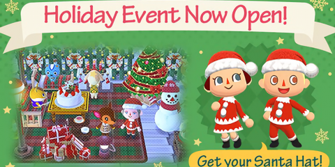 Animal Crossing Pocket Camp Festive Event
