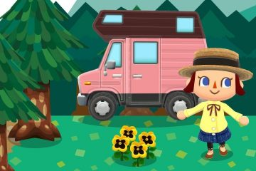 Animal Crossing Pocket Camp Gardens