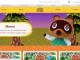 Animal Crossing Switch Website