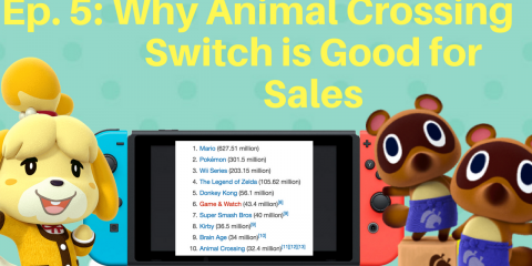 Why Animal Crossing Switch is Good for Sales
