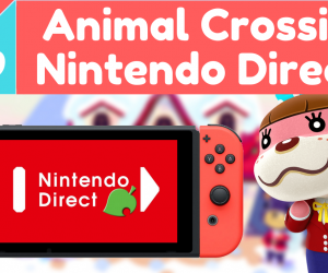 Animal Crossing Switch in January Nintendo Direct?